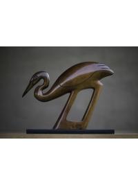Egret Clan Totem by Jon Buck