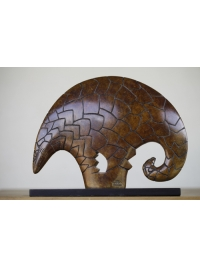 Pangolin Clan Totem by Jon Buck