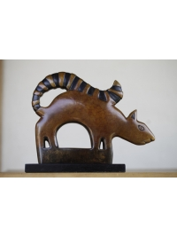 Squirrel Clan Totem by Jon Buck