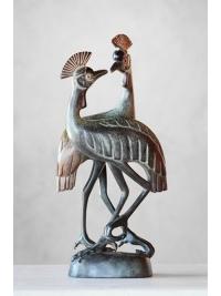 Crane Couple by David Bwambale