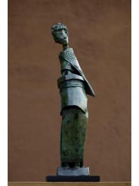 Ankole Lady by Isaac Okwir