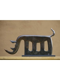 Rhino Clan Totem by Jon Buck