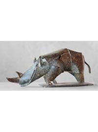 Rhino by Isaac Okwir