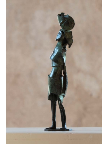 Lady with Pot