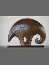 Pangolin Clan Totem by Jon Buck