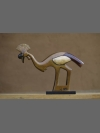 Crowned Crane Clan Totem by Jon Buck