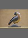 Parrot Clan Totem by Jon Buck